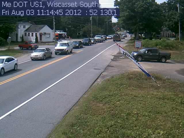 Wiscasset Traffic Camera >> Wiscasset Southbound | Wiscasset Newspaper