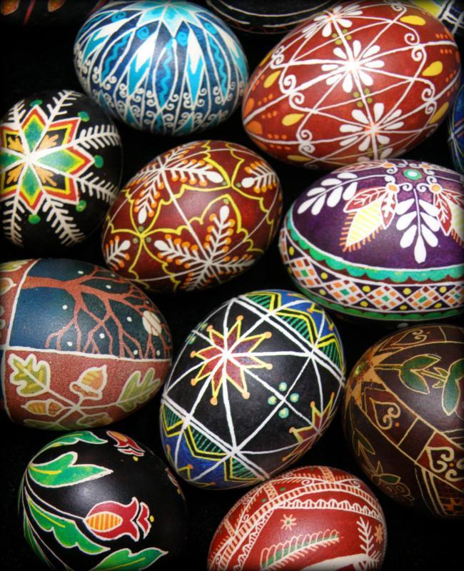 Ukrainian Pysanky Egg Decorating At River Arts