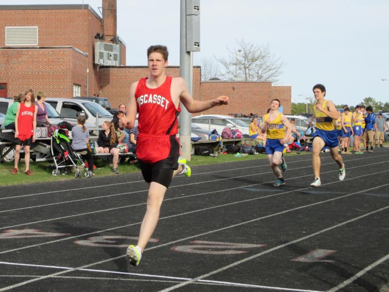 hosting a track and field meet