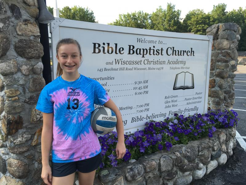 Wiscasset's Aleeya Jones reaches new rung in volleyball training ...
