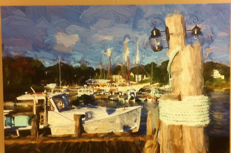 new local artists on display at atlantic motorcar wiscasset newspaper wiscasset newspaper