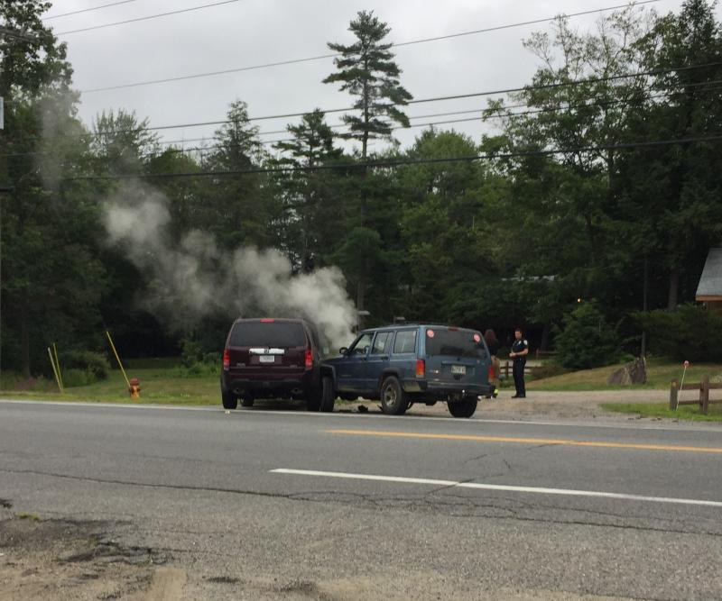 Route One, Wiscasset accident sends one to hospital