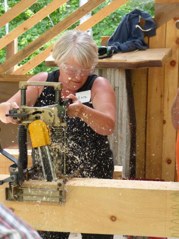 Timber frame course resumes July 5-8 | Wiscasset Newspaper