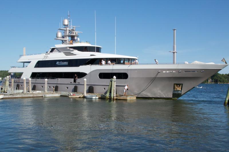 $24 million yacht in Wiscasset | Wiscasset Newspaper