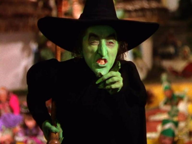 Margaret Hamilton - Wicked Witch of the West
