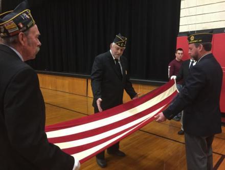American Legion Post 54, Dale Skillin, Jim Savage, Neil Page, Ridge Barnes