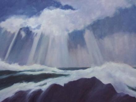 "Sally Loughridge, ""Storm Break"""