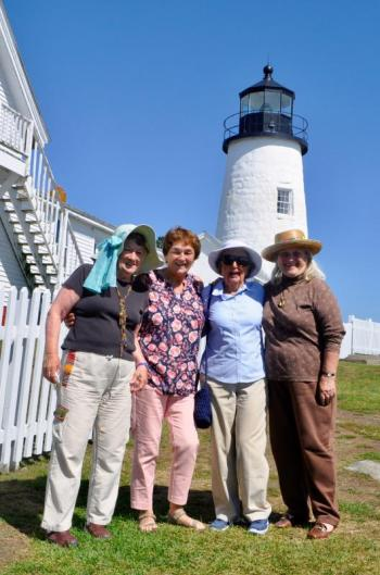 Lincoln Home Assisted Living Pemaquid Lighthouse outing