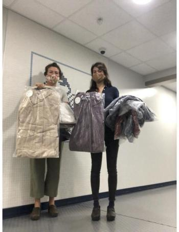 New Hope for Women Oceanside High School clothing domestic violence