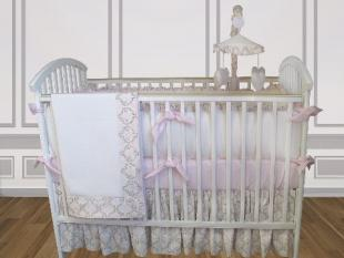 Emma Crib Bedding by Bebe Chic