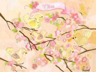 Cherry Blossom Birdies by Megan & Mendy Winborg