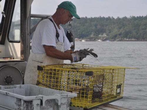 F/V Evelyn Leigh, Boothbay Harbor, Lobstering, David Tibbetts,