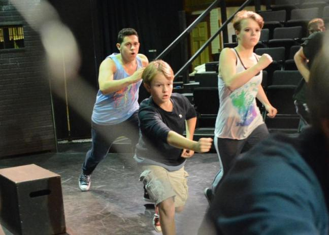 Heartwood West Side Story rehearsal