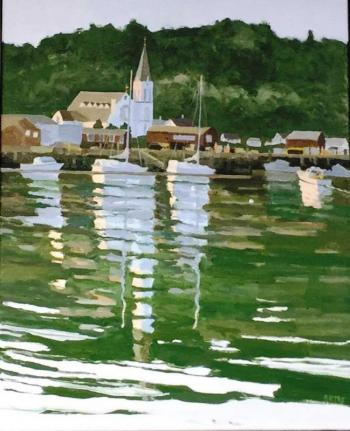 "John Butke ""Harbor Reflections"""