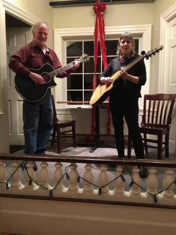 John Couch and Sylvia Tavares