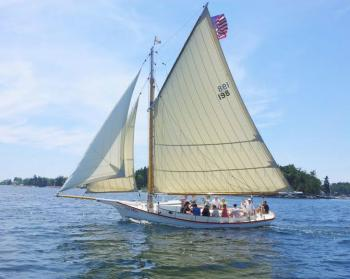 sail boat trip Bay Lady