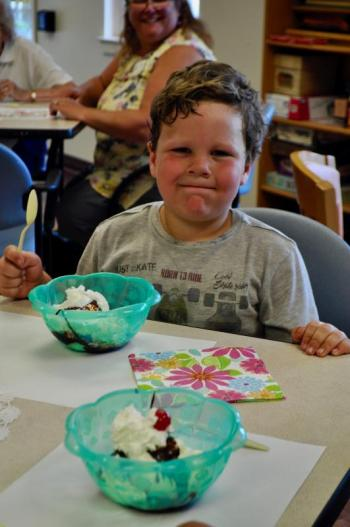 Lincoln Home Assisted Living Ice Cream Social July 23
