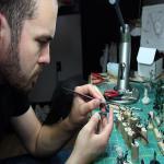 Gardiner Maine based sculptpr Nicolas Genovese