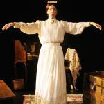 "Ginger Grace as ""The Belle of Amherst,"" poet Emily Dickinson"