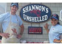 shannons unshelled, mutt scrub, boothbay harbor