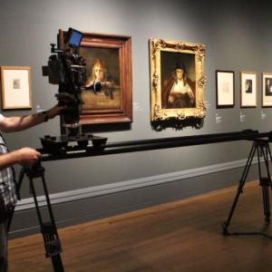 Rembrandt Exhibition Shell : Rembrandt versus vermeer
