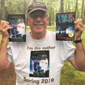 Maine youth author Dr. Steve Burt