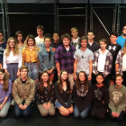 Heartwood and Lincoln Academy cast of West Side Story